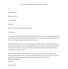 Samples Of Letters Of Recommendation For College Free Template For Letter Of Recommendation Letter Of