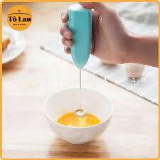 QUÀ TẶNG LÀ KHẨU TRANG BẠN NHÉ] Máy Đánh Trứng Cầm Tay Tạo Bọt Cafe, Máy  Đánh Trứng Mini Cao Cấp chính hãng 10,000đ