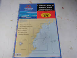 Maptech Waterproof Charts Maine Details About Maptech Waterproof Chartbook Cape Ann To Portland Maine Wpb0220 074360816x
