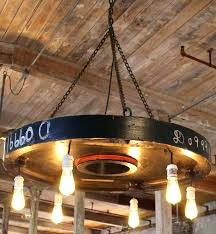 round edison bulb chandelier iron ring and bulbs chandelier browse intended for amazing residence bulb chandelier