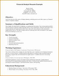 Brilliant Financial Analyst Resume Summary Examples For Your