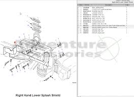 hummer h1 am general parts drawings 96 rh splash shield gif