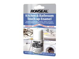 save 4 ronseal kbtue 10ml kitchen bathroom touch up enamel