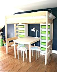 bunk bed with slide and desk. Contemporary Desk Bunk Bed With Slide Ikea Loft Bedroom Ideas Desks Queen Desk Beds  For Adults Inside Bunk Bed With Slide And Desk E