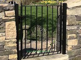 holme wrought iron metal garden gate
