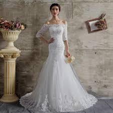 curvy mermaid wedding dresses with sleeves naf dresses