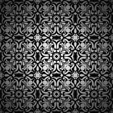 black and white vintage floral wallpaper. Interesting White Black And White Vintage Floral Background Pattern Wallpaper With Gradient  Stock Photo  88215866 Throughout And White Vintage Floral Wallpaper S