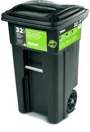 Outdoor Trash Can With Wheels Extraordinary Outdoor Garbage Cans With Wheels Ace Hardware Trash Can Amazing