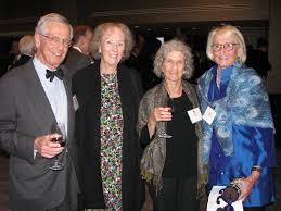 Bob Rich, left, with Suzanne Ryan, Myra Rich and Ellie Caulkins