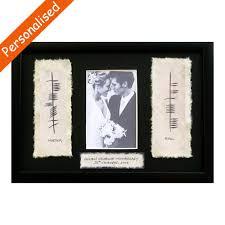 personalised ogham 50th wedding anniversary
