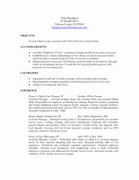Sample Resume For Hotel Awesome Sample Objective In Resume For Hotel