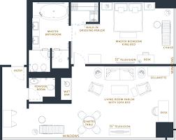 Master Bedroom Suite Floor Plans One Bedroom Suite Plans Tllon Room Floorplan Grand One Bed Suite