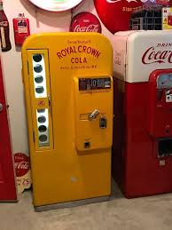 Rc Cola Vending Machines Sale Simple Pin By Cameron Kennedy On VMC 48 Royal Crown Pinterest
