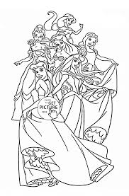 Small Picture Disney Princess Coloring Page Disney Princess Coloring Pages To