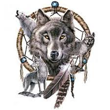 Dream Catchers With Wolves