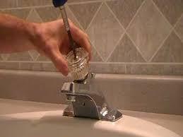 bathroom sink faucet repair. how to replace repair a leaky moen cartridge in bathroom set of single handle sink faucet h