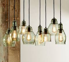 rustic glass pendant lighting. Astounding Small Rustic Glass Indoor Outdoor Pendant Pottery Barn On Lights Lighting