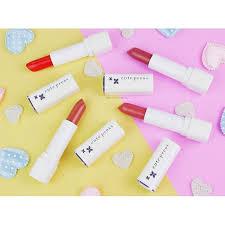 ลิปสติกเนื้อครีม Cute Lasting 100 Lipstick นุ่มลื่น Press Long ลิปสติก ของแท้