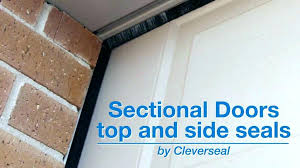 garage door seal garage door side seal wood garage door side weather stripping garage door