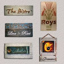 Small Picture Name Plate Designs For Home Designer Name Plates For Homes
