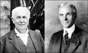 henry ford with thomas edison. Wonderful Ford Thomas Edison L And Henry Ford And With D