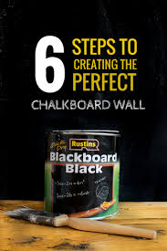 tutorial on how to paint a chalkboard wall / Grillo Designs  www.grillo-designs