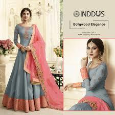 Bollywood Designer Suits Online Shopping Buy Anarkali Salwar Kameez Shop Latest Designer Anarkali