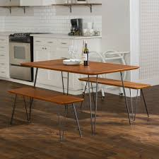 Hairpin dining table Eames Square Hairpin Dining Table Walker Edison Shop Square Hairpin Dining Table Walker Edison