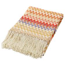 missoni home margot throw  in a soft color palette  stardust