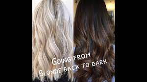 advice on dying your hair from blonde