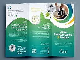 Beautifully Designed Fold Brochure Template Tri Fold