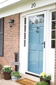 blue front doorNew Front Door Paint Color or Leave it  Satori Design for Living