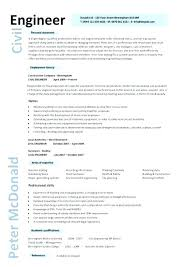 Sample Resume For Civil Engineering Student Best of Sample Resume For Civil Engineering Student Plus Printable Civil