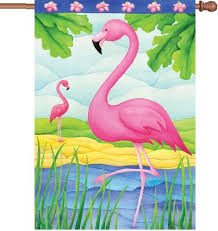 flamingo garden flags.  Garden Flamingo Garden Flags 300 Best Images On Pinterest Inside M