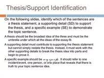 thesis and support essay an essay on community service whats thesis and support essay