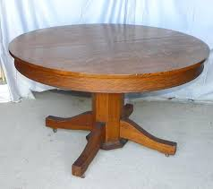 round oak dining table adorable antique and vintage old round expandable oak wooden dining table at white oak dining table bench