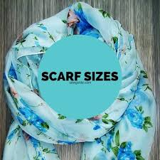 Scarf Shawl Stole And Wrap Different Size Measurements