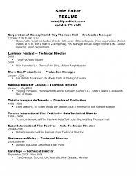 Technical Director Job Description Templates Production Manager Resume Sle Technical Theatre 6
