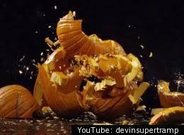 Image result for smashed pumpkin