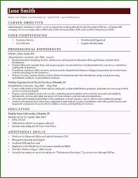 Job Resume Objective Examples Unique How To Write A Career
