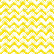 Chevron Pattern Hand Painted with Brushstrokes - Patterns Decorative