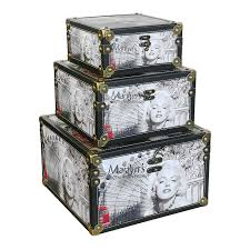 Decorative Storage Box Sets Storage Box set of 100 Marilyn's 100th Anniversary A decorative 26