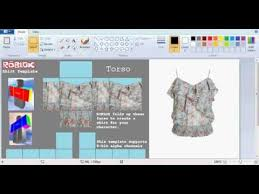 How To Make A Roblox Shirt On Paint Net How To Make A Transparent T Shirt On Roblox With Paint Net