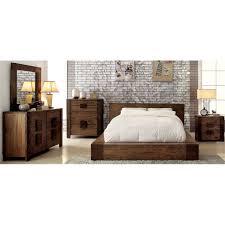 Furniture of America Elbert 4 Piece Queen Bedroom Set - IDF-7628Q-4PC