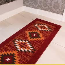home interior unique aztec runner rug red orange tribal milan oon from aztec runner rug