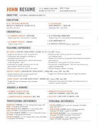 Cool Resume Layout A Good Owner Manual Example