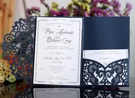 Wedding Invitation Folding Laser Cut Wedding Invitations Oem In Customized Hollow Folding