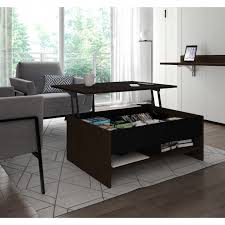 bestar small space 37 inch lift top storage coffee table free today these kinds of condo sized