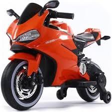 Детский электромотоцикл FUTAI Ducati Orange 12V - FT-1628 ...