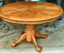 round dining room table with leaf. The Beauty Of Round Dining Room Table With Leaf / Leaves » Tiger Oak
